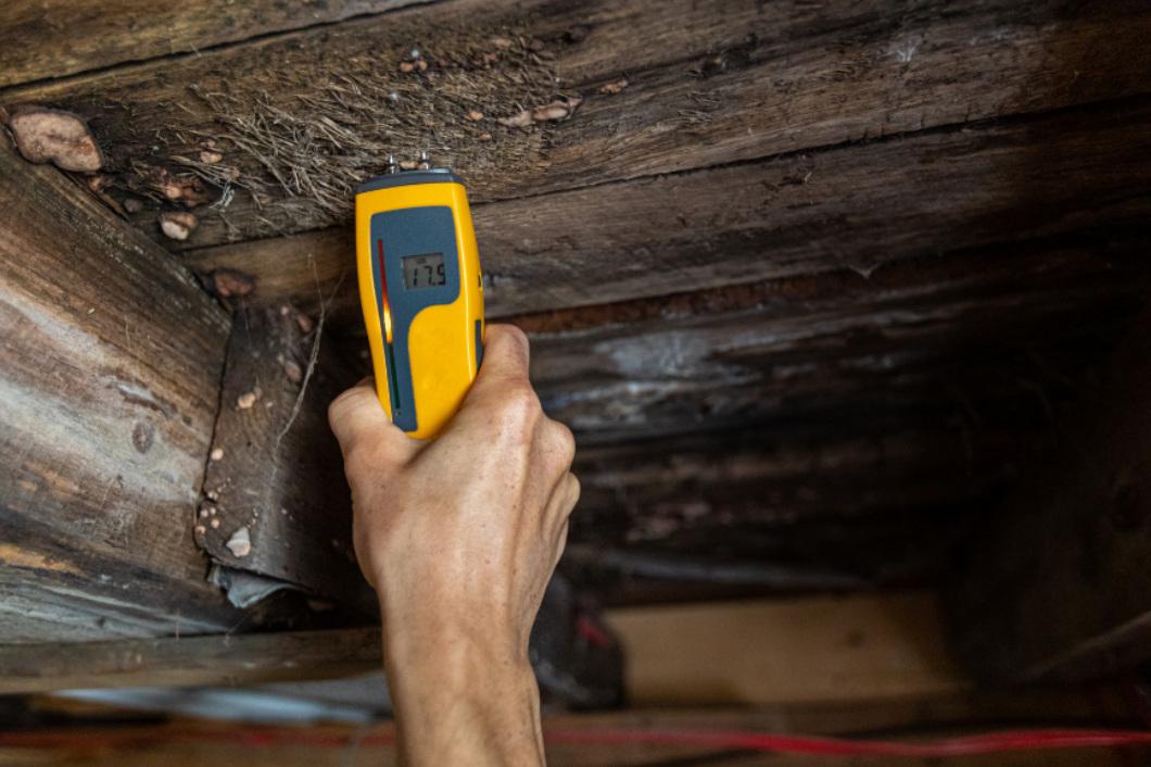 Un outil d'analyse de l'humidité d'un sous-sol